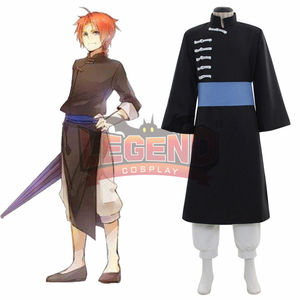 GINTAMA Kamui cosplay costume adult male uniform halloween costume