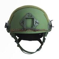 FAST Anti Bullet Helmet Kevlar NIJIIIA Ballistic Helmet With Test Report Ops Core FAST Ballistic Helmet