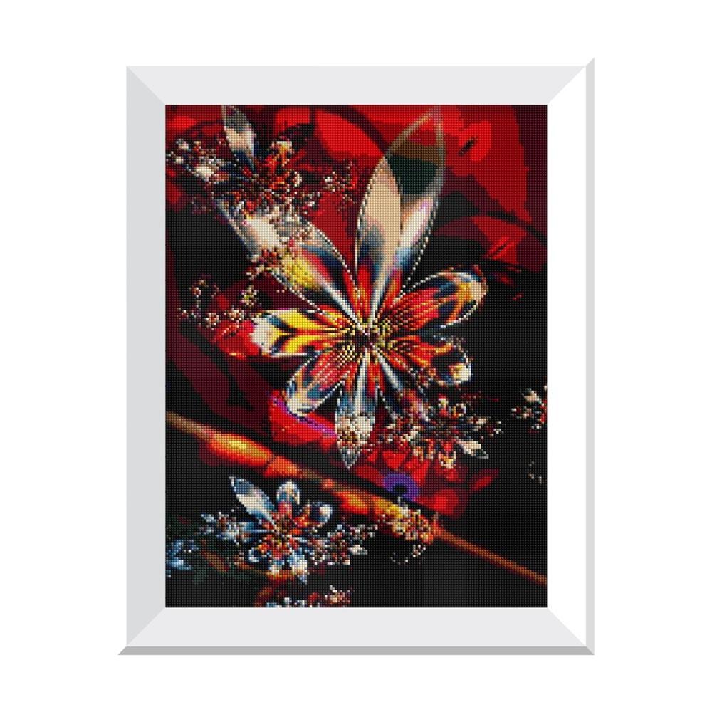 Image 4 - Горячая Европа Алмазная картина вышивка крестиком цветок 5D Diy Стразы для вышивки рукоделие домашний декор-in Рисование и каллиграфия from Дом и животные