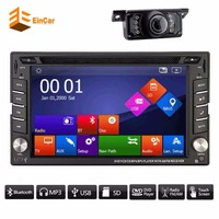 6 2 Touch Screen CAR DVD Player Duoble 2DIN Car GPS Navigation Stereo Player Raido Built