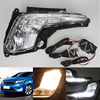 Newest LED Daytime Running Light For Kia Rio K2 2011 2012 2013 2014 2015 With Turn