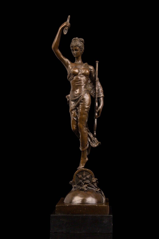 aliexpress com buy modern woman sculpture bronze statues retro