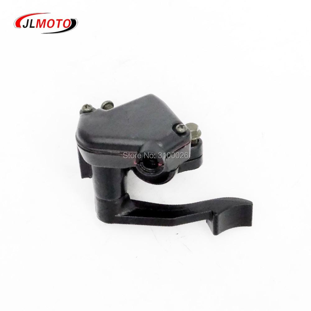 Dwcx Black Metal Thumb Accelerator Lever Controller Throttle Wire Cable Assembly For Honda Atv 50cc 110cc 150cc Taotao Lifan Atv Parts & Accessories