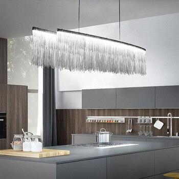 Luces colgantes modernas de lujo para comedor, accesorios de luz Led,  luminaria, lámpara de barra, luces de techo, lámparas colgantes