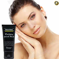 Cheapest Black Mask Blackhead Remover Nose Mask Pore Strip Facial Cleasing Acne Treatment Mineral Mud Membranes Clay Mask