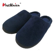 c4255bf4443 indoor slippers winter solid adult furry rihanna warm house home shoes with fur  men faux plush slippers designer autumn chinelos
