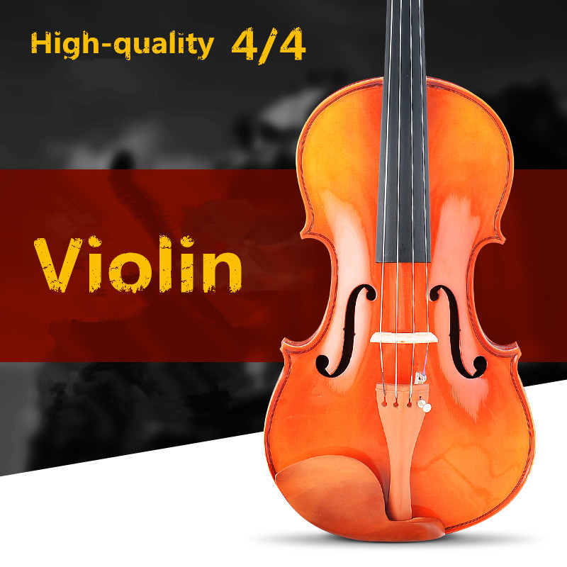 Spruce Violin 4/4 Violin Handcraft Violino Musical Instruments With Violin Rosin Case