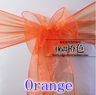 Popular Orange Wedding Chair TiesBuy Cheap Orange Wedding Chair - Wedding chair ties