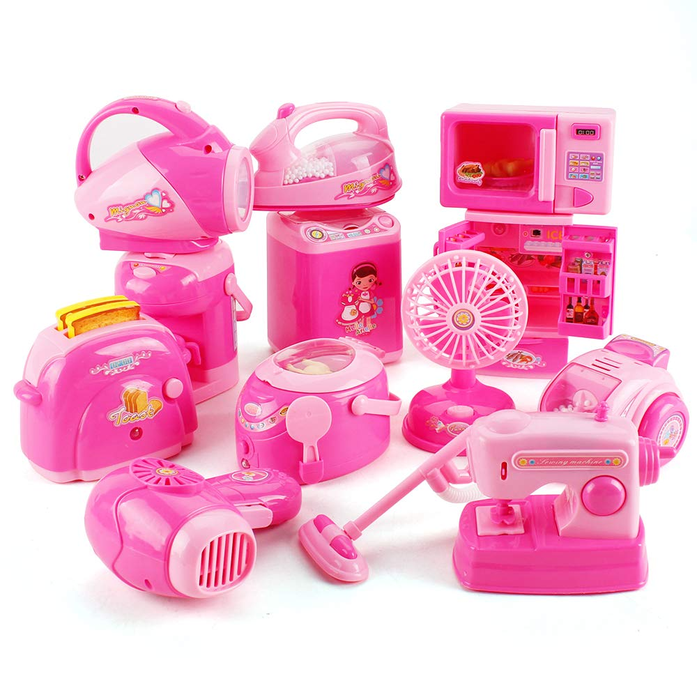 Kids Kitchen Accessories >> Us 29 99 40 Off 12pcs Set Mini Small Children Pretend Kitchen Appliances Toy Kitchen Accessories Kids Kitchen Accessories Play Home Toys Set In