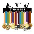 Suporte da medalha do metal do gancho da medalha da ginástica para 32 medals 45 medalhas