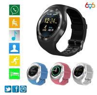 Egeedigi Y1 Smart Watch Lite Waterproof Android SmartWatch Phone Call GSM Sim Remote Camera Information Display Sports Pedometer