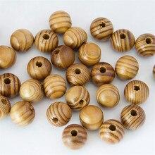 8-20 мм DIY бусины из натурального дерева Свободные Круглые сосновые деревянные полосы Бусины разделитель браслет ожерелье Изготовление ювелирных изделий Цена по прейскуранту завода