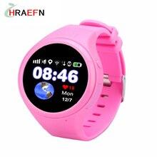 Hraefn Smart Baby Watch T88 Children Kids smartwatch GSM GPS wifi AGPS Locator Tracker Anti-Lost SOS for child kid PK q50 Q90