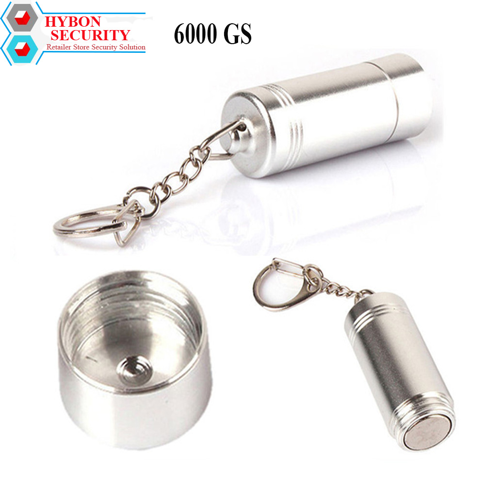 HYBON Security Tag Remover Magnetic Bullet Mini Golf Detacher 6000gs Unlocker Magnetic desacoplador de alarmas aimant antivol hybon golf detacher 15000gs universal magnet tag remover eas security detacher removedor de alarmas clothing detachers