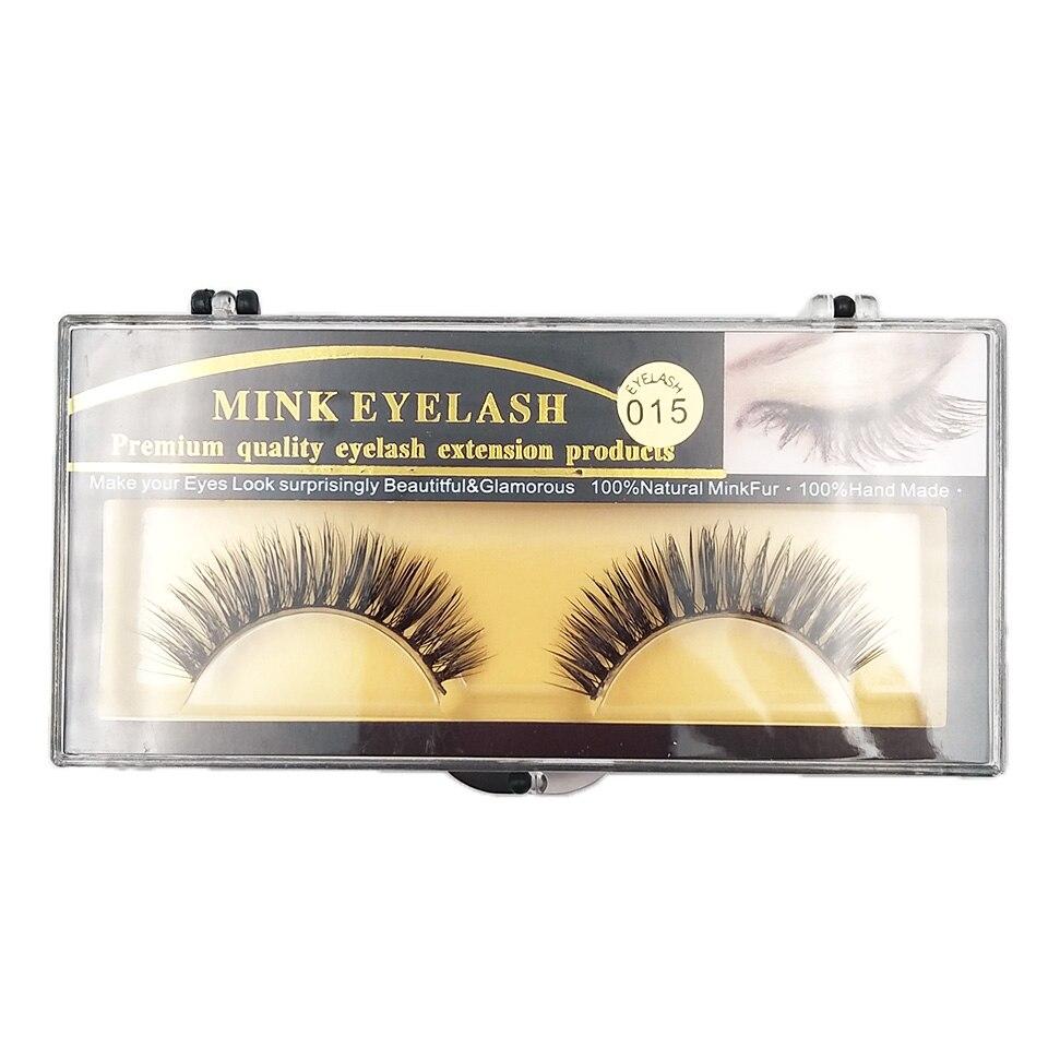 XME015 natural long lashes  (4)