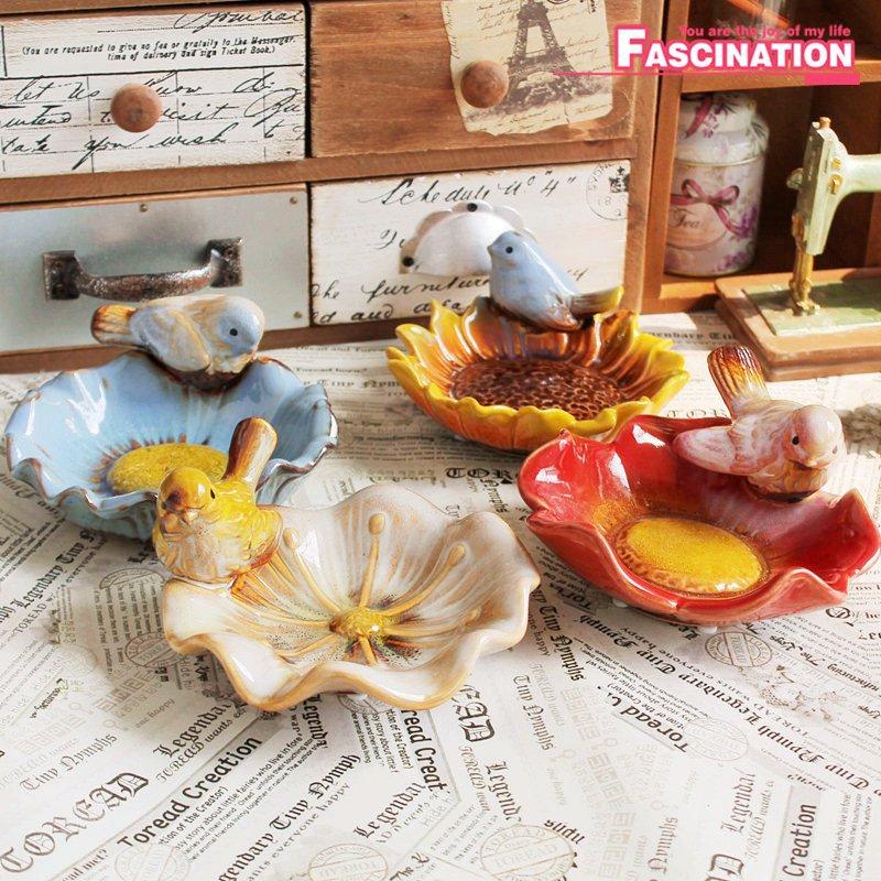Achetez en Gros plats oiseaux en céramique en Ligne à des ...