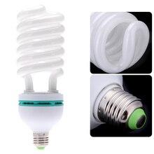 E27 220V 150W 5500K צילום סטודיו הנורה וידאו לבן צילום אור אור יום מנורת משלוח חינם