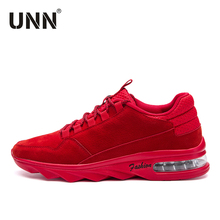 2017 New Red Sneakers PU Typical Sport Shoes Outdoor Walking Original Sneaker Black  Comfortable Mens Shoes