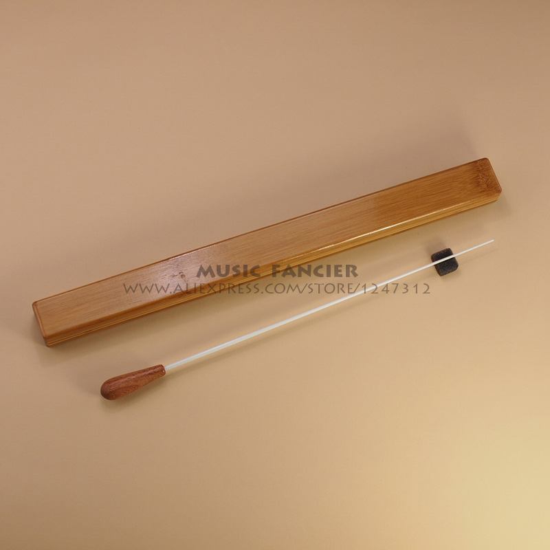 High-Quality NEW Music Conductor's Baton Wooden Handle Music Gifts Conductor dedicated (With Box)