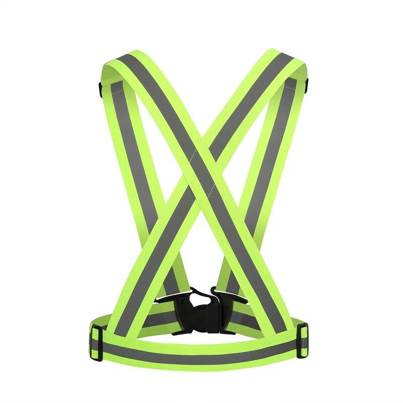 4 см Велоспорт светоотражающий жилет видимости ночного для верховой езды бег трусцой защ ...