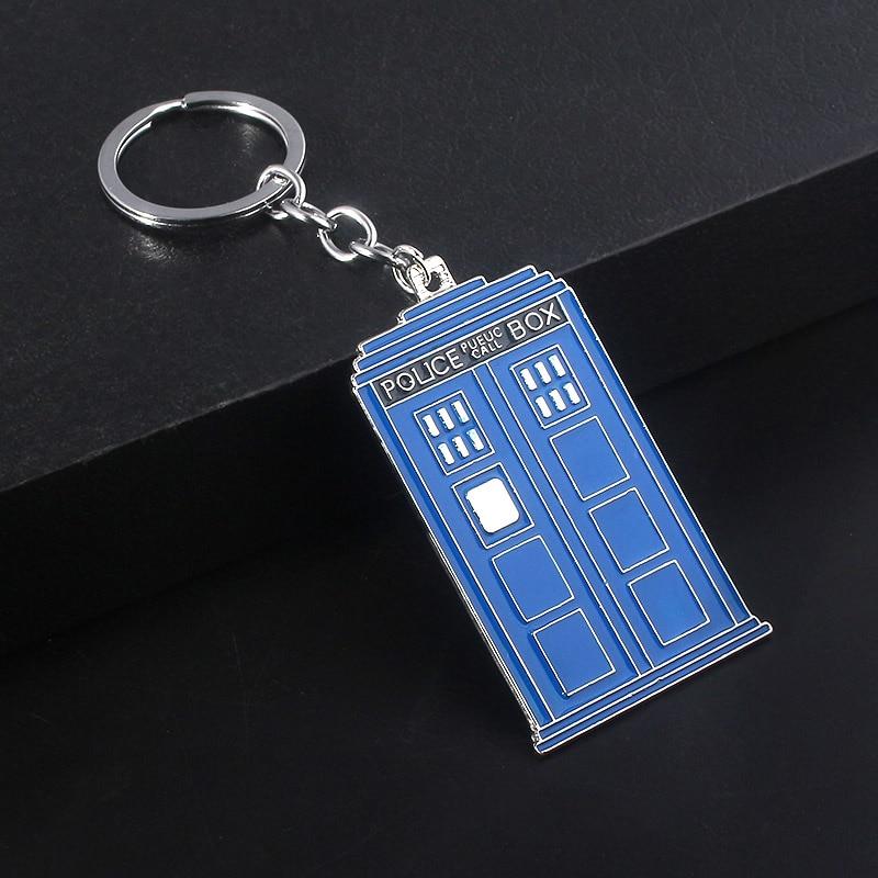 NEW Doctor Who Blue 3-D TARDIS Red Dalek /& Bow Tie Charm Gift Bracelet