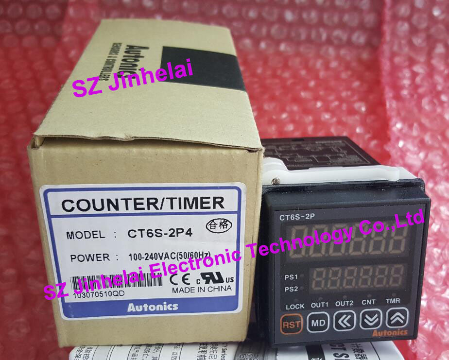 CT6S-2P4 (CT6S-2P) New and original AUTONICS Count relay 100-240VAC цены
