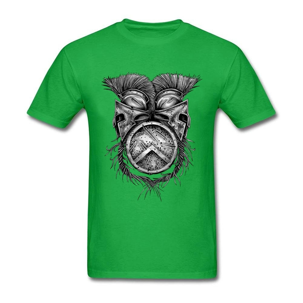 Spartan Helmets And Shield T Shirt Custom Short Sleeve Hip Hop Funko Pop Cotton Crewneck Big Size T Shirts Fitness Men