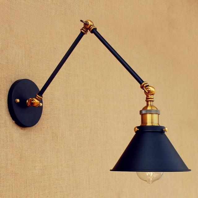 Wandleuchte Schaukel Langen Arm Wand Leuchten Led Retro Loft Vintage
