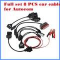 8 PCS Carros Conjunto Para CDP Pro DS150E TCS CDP Carros Cabos Interface de Diagnóstico de Cabo