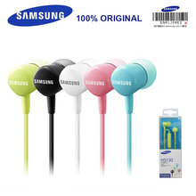 SAMSUNG HS130 Wired 3.5mm In-ear Headsets with Microphone 5 Color for Samsung Galaxy S8 S8Edge Support Official Verification