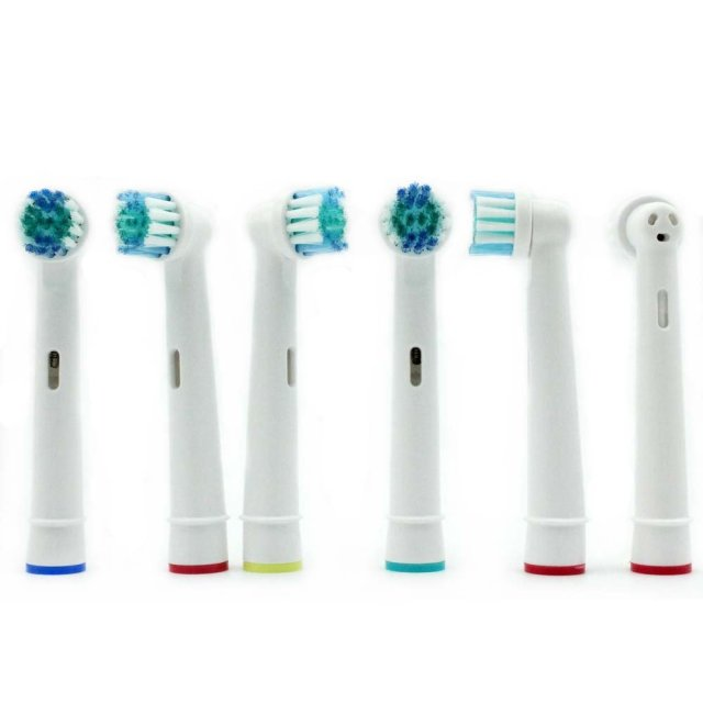 8pcs Replacement Brush Heads For Oral-B Electric Toothbrush Advance Power/Vitality Precision Clean/Pro Health/Triumph/3D Excel 2