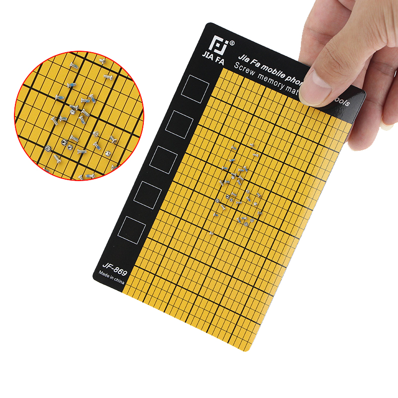 UANME 1 Piece Mobile Phone Repair Tools Screw Memory Mat Magnetic Chart Work Pad 145 x 90mm Palm SizeUANME 1 Piece Mobile Phone Repair Tools Screw Memory Mat Magnetic Chart Work Pad 145 x 90mm Palm Size