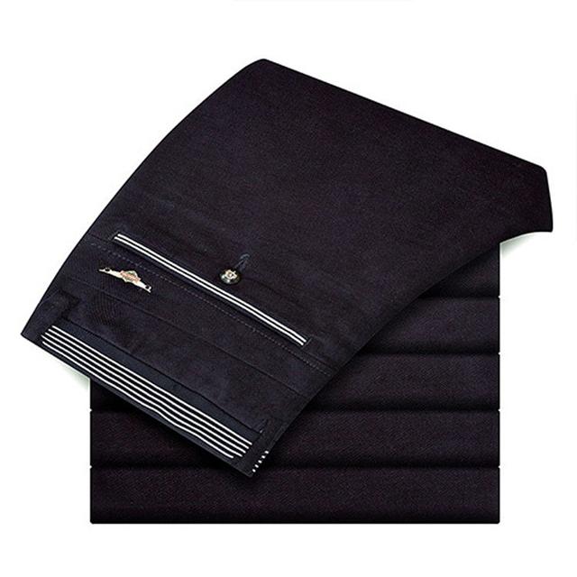 2016 nuevo invierno jacquard elástico pana pantalones Pantalones casuales de los hombres Coreanos pantalones rectos masculinos
