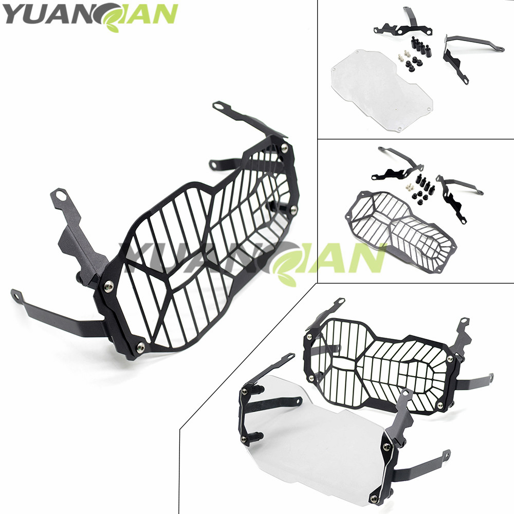 For BMW R1200GS Headlight Grille Guard Cover Protector For BMW R 1200 GS ADV Adventure R 1200GS (Water Cooled) 2012-2016 motorcycle radiator grill grille guard screen cover protector tank water black for bmw f800r 2009 2010 2011 2012 2013 2014