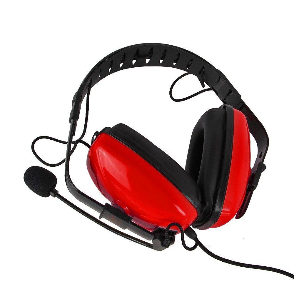 Pour Baofeng Quansheng Réduction Du Bruit Casque D'aviation TD16-R-K1 HYT/TYT/WOUXUN/Puxing Radio Bidirectionnelle uv5r uv82 bf-888s md380