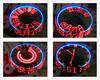 DIY Rotating LED Kit POV Welding Training Kit Upgraded Version Red Free Shipping