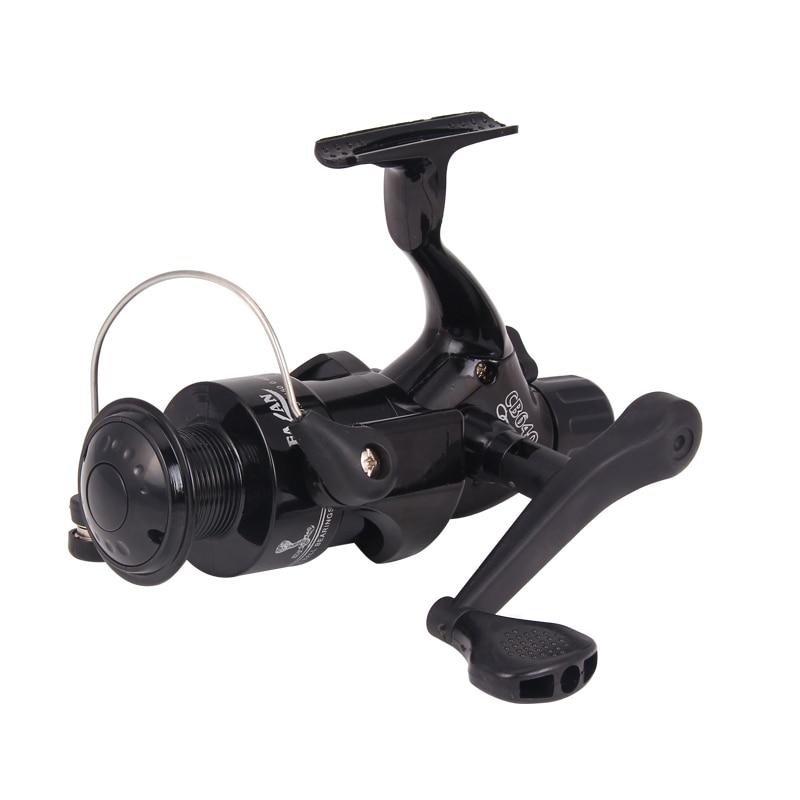 New Model Spinning Fishing Reel 4000 Series Gear Ratio 5.2:1 Plastic reel Super Strong Pesca Carp Fishing Wheel XQ05