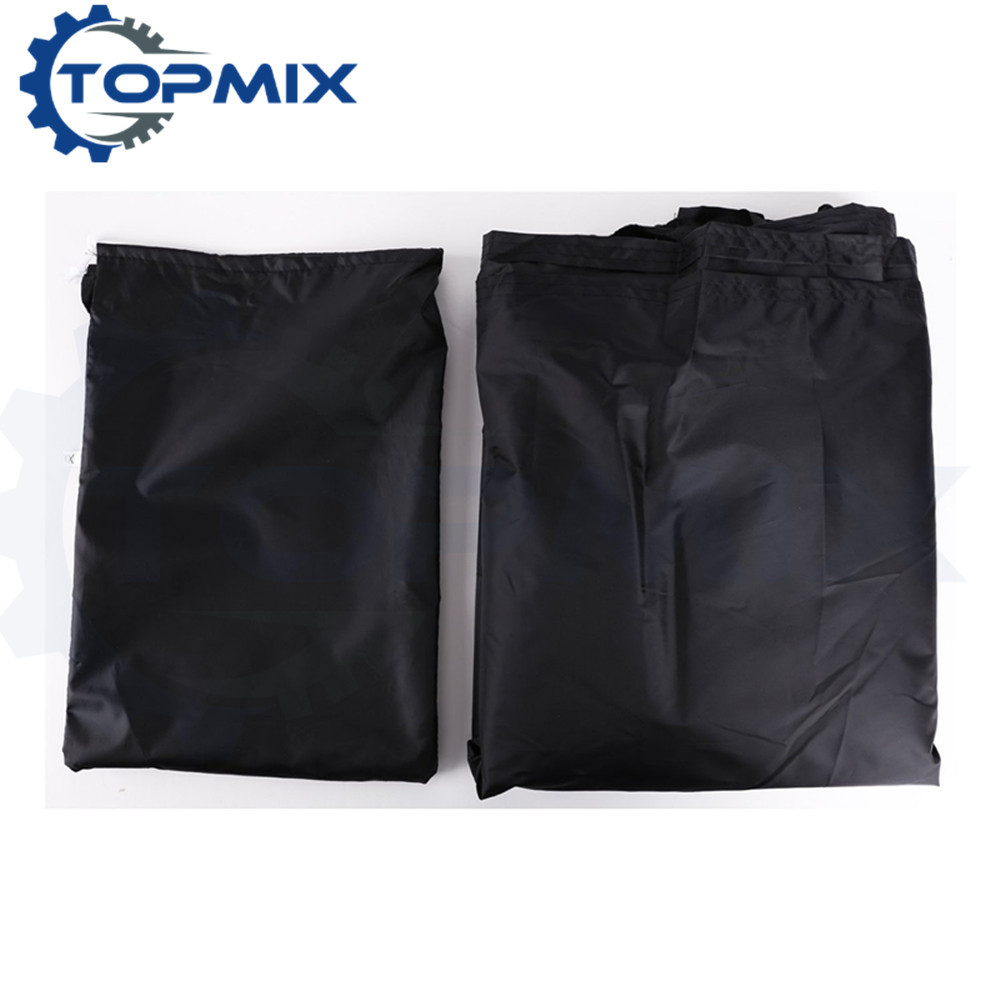 Motorcycle cover black 3