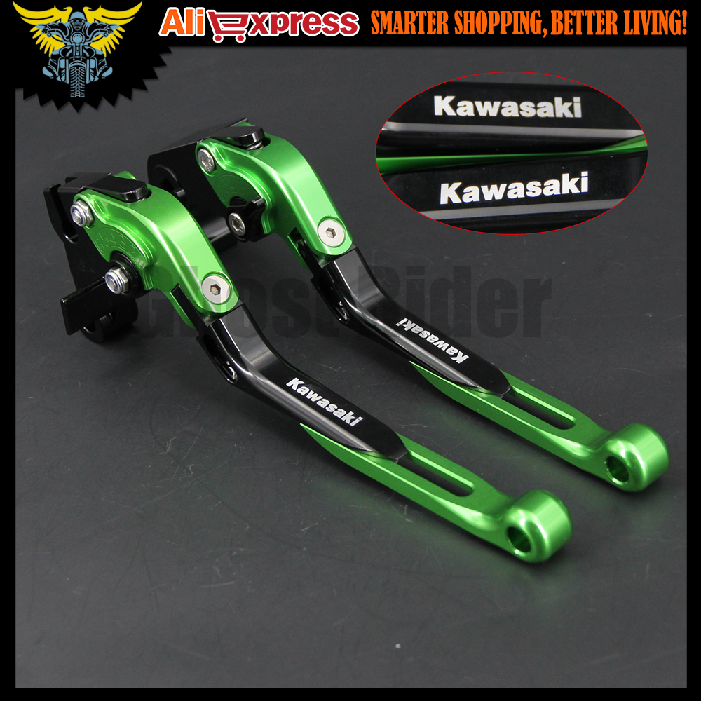 CNC Folding Extendable brake clutch levers Kawasaki Z1000 Z800 Z1000SX/NINJA 1000/Tourer ZX1100/ZX-11 ZRX1100/1200 ZX12R ZZR1200 billet alu folding adjustable brake clutch levers for motoguzzi griso 850 breva 1100 norge 1200 06 2013 07 08 1200 sport stelvio