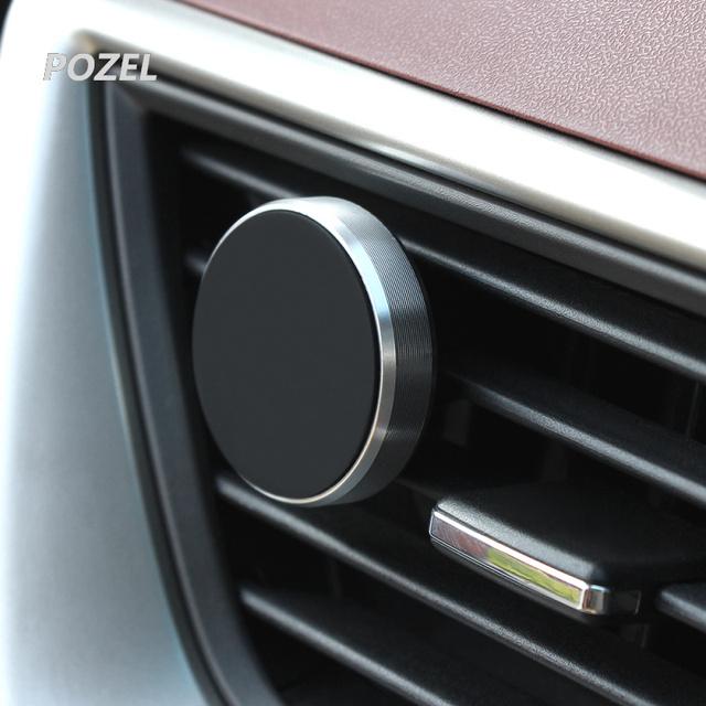 Car Holder Mini Air Vent Mount Magnet Magnetic Holder for Skoda rapid a5 a7 YETI Superb Citigo Fabia Octavia 2 CitiJet MissionL