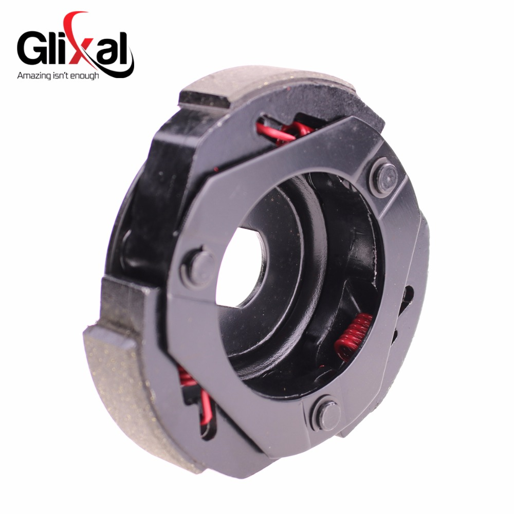 Glixal High Performance Racing Clutch Shoe Plate for GY6 125cc 150cc 157QMJ  152QMI Engine Chinese Scooter Moped ATV Go-Kart