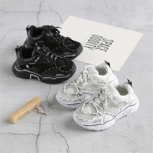 Image 2 - Childrens Shoes 2020 New Toddler Boys Girls Sport Shoes Reflective Shoelace Breathable Outdoor Tennis Fashion Kids Sneakers