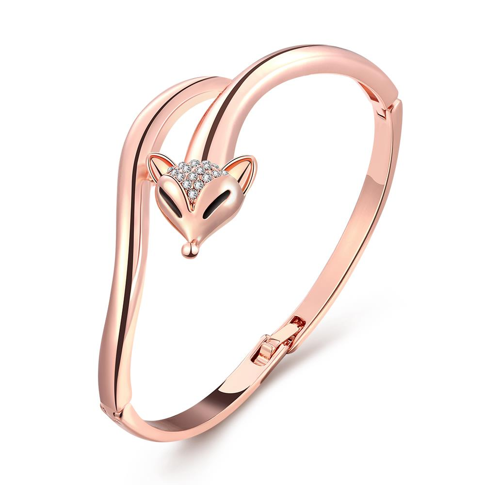 5.7cm Wedding Bracelet Fashion Accessories Rose Gold Plated 18K Gold Plated Bracelets PZ071 Good Quality Nickle Free Ant