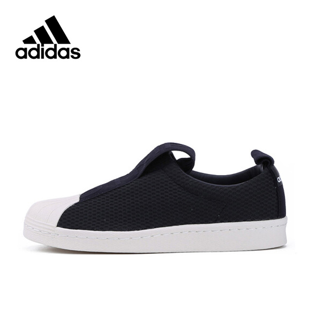 New Arrival Originals Official Adidas Superstar Slip On Breathable Women's  Skateboarding Shoes Sports Sneakers