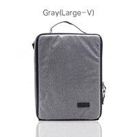 Large V gray