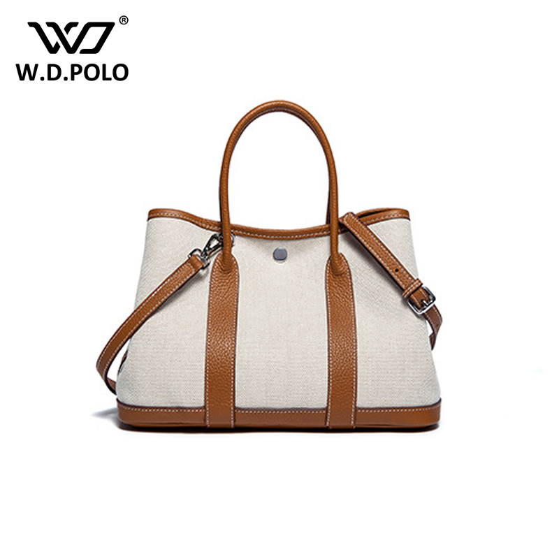 WDPOLO 2018 new Classic Casual Patchwork Tote Popular Women Canvas and Leather Handbags big size hasp women shoulder bags C396 2017 new classic casual patchwork large tote lady split leather handbags popular women fashion shoulder bags bolsas qn029