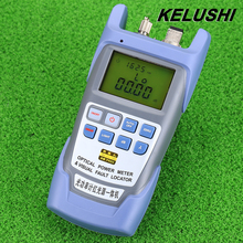 KELUSHI All IN ONE FTTH Fiber Optical Power Meter 70 To 10dbm And 10mw 10km Fiber