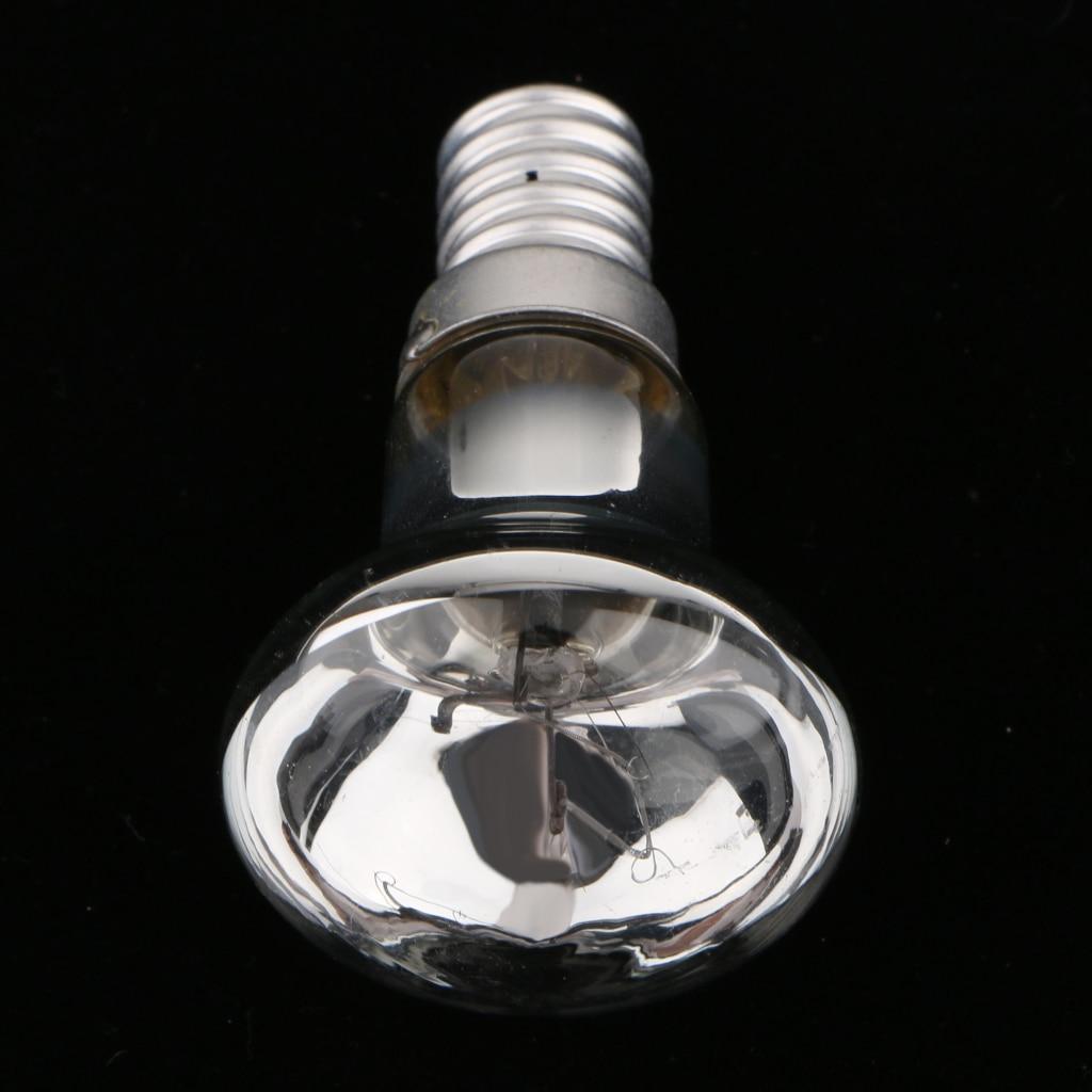 Lava Lamp Bulb Small Screw SES E14 2x 30W R39 Pearl Reflector Spot Lights