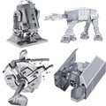 Star Wars brinquedos para as crian Puzzle toys 2015 New Russia metal earth 3D Nano metal DIY  Puzzle brain  juguetes educativos