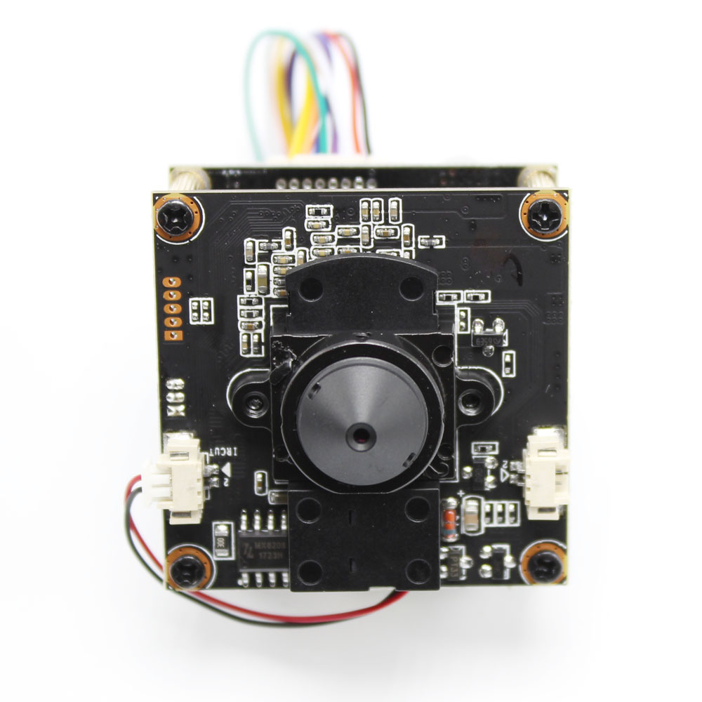 H.265 POE DIY IP Camera module Board with pinhole 3.7mm Lens IRCUT Hi3516E 1080P IPC Indoor Camera Mobile APP XMEYE ONVIF image